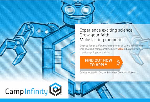 Camp Infinity Homepage